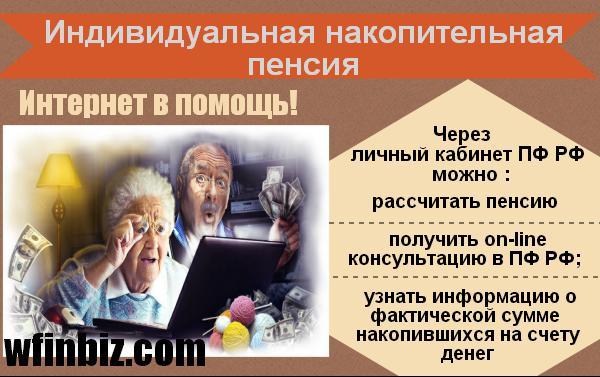 Индивидуальная накопительная пенсия