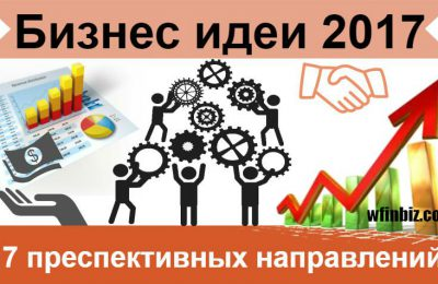 Бизнес идеи 2017 года