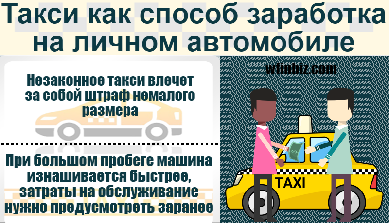 Такси на личном автомобиле