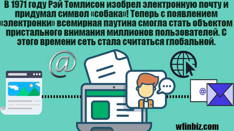 Как изобрели электронную почту?