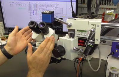 Тринокулярный микроскоп